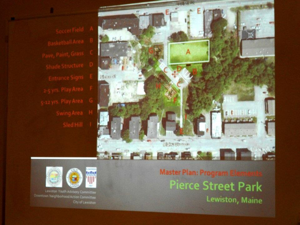 LYAC - Pierce Street Park Proposed Plan