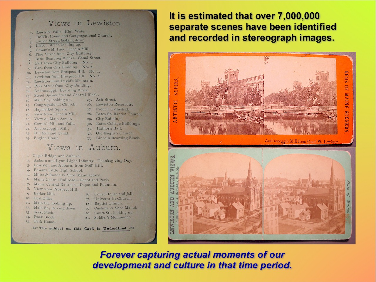 000c-Stereoview Cards