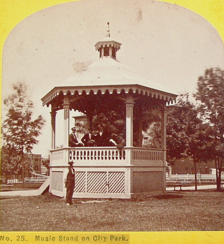 Music Stand in City Park (gazebo)