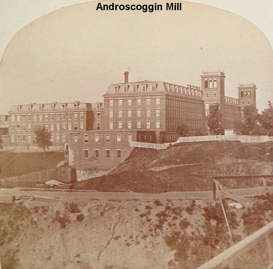 Androscoggin Mill (Canal & Locust Sts., Lewiston)